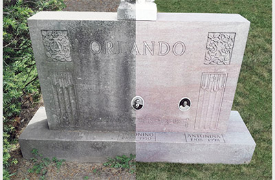 How To Clean A Headstone Cleaning Cemetery Monument
