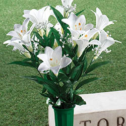 easter lily memorial