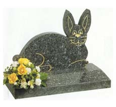 bunny shaped monument
