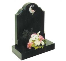 black kids gravestone