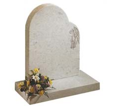 personalized infant headstone