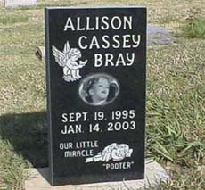 affordable infant gravemarker