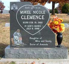 affordable kids headstones