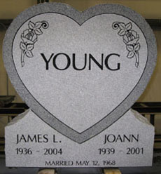 couple headstones