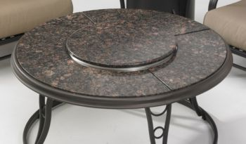Granite Outdoor Chat Table