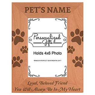 Custom Pet Picture Frame