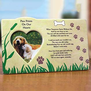 Dog Remembrance Photo Frame