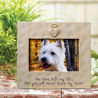 grasslands road pet memorial photo frame