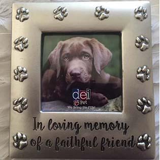 Pet Memorial Frames Personalized Memorial Photo Frames