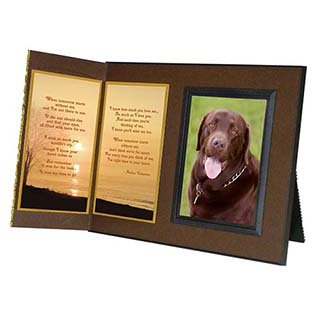 Pet Loss Picture Frame