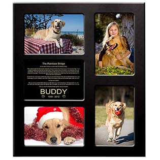 pet memorial frame personalized
