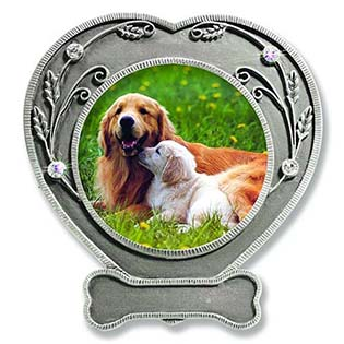 Pewter Heart Shaped Frame