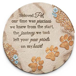 Beloved Pet Garden Step Stone