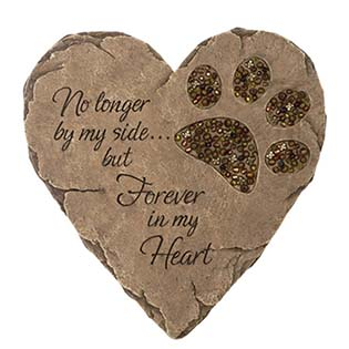 Pet Foot Print Garden Stepping Stone