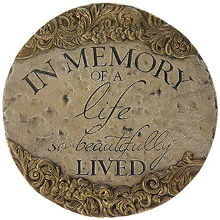 memory decor Stepping Stone